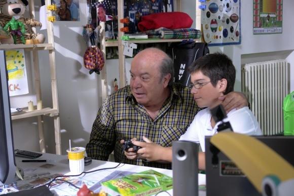 Lino Banfi in un'immagine del film L'allenatore nel pallone 2 (2007)