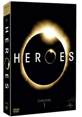 La copertina DVD di Heroes - Stagione 1