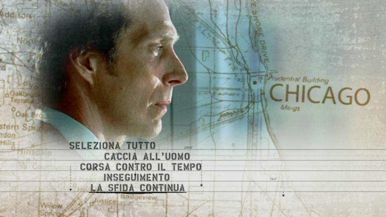 La schermata dei titoli del primo disco di 'Prison Break . Stagione 2 (Vol.1)'