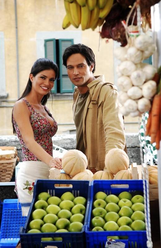 Laura Torrisi e Gabriel Garko in 'Una moglie bellissima.