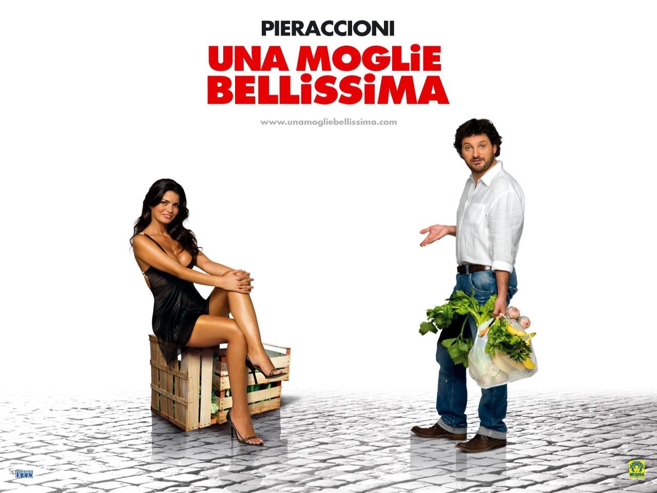 Wallpaper del film Una moglie bellissima con Leonardio Pieraccioni