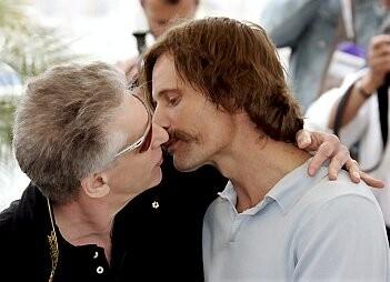 David Cronenberg e Viggo Mortensen