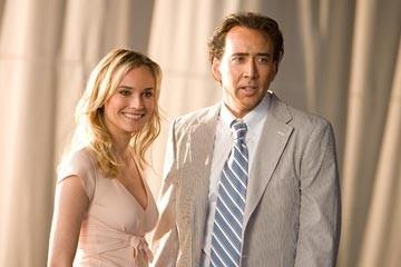 Nicolas Cage con la bella Diane Kruger in una sequenza del film National Treasure 2: Il Mistero delle pagine perdute