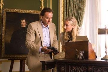 Nicolas Cage con Diane Kruger in una sequenza del film National Treasure 2: Il Mistero delle pagine perdute