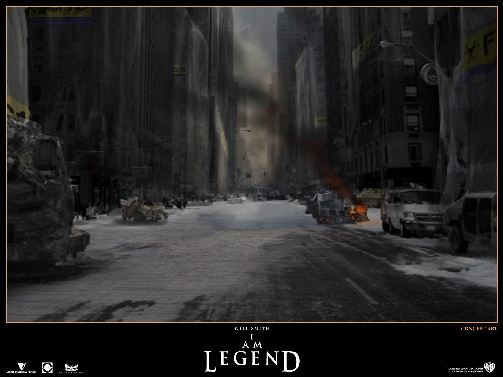 Wallpaper: un'immagine cupa del film Io sono leggenda