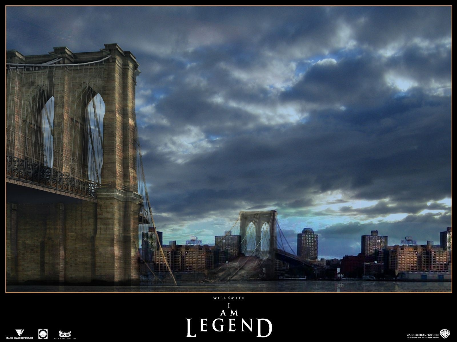 Wallpaper: un'immagine suggestiva del film Io sono leggenda