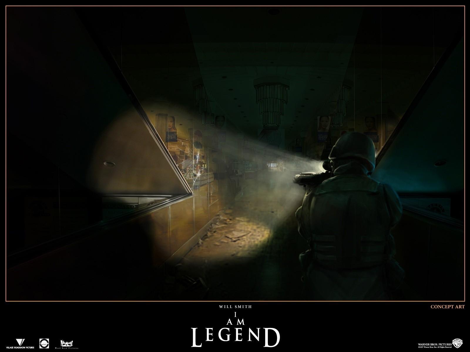 Wallpaper del film Io sono leggenda diretto da F. Lawrence