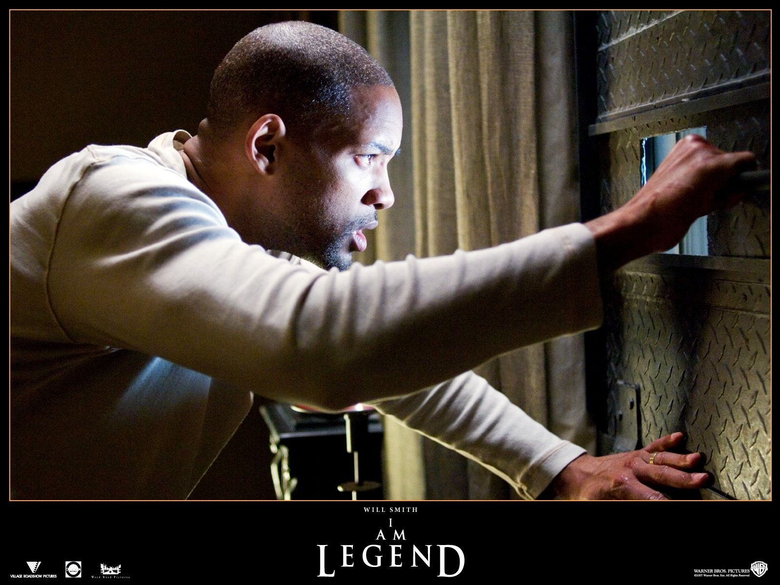 Wallpaper del film Io sono leggenda con Will Smith