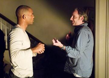 Will Smith e Francis Lawrence sul set di Io sono leggenda