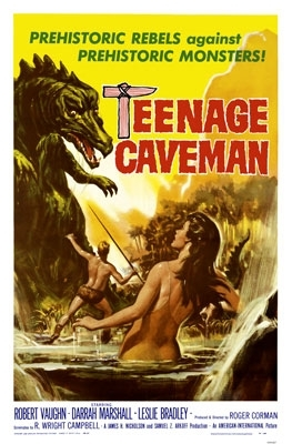La locandina di L'adolescente delle caverne