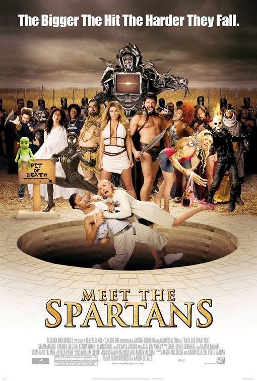 La locandina di Meet the Spartans