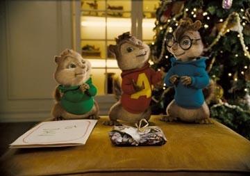 I tre protagonisti di Alvin Superstar