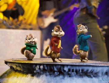 I tre simpatici protagonisti di Alvin Superstar