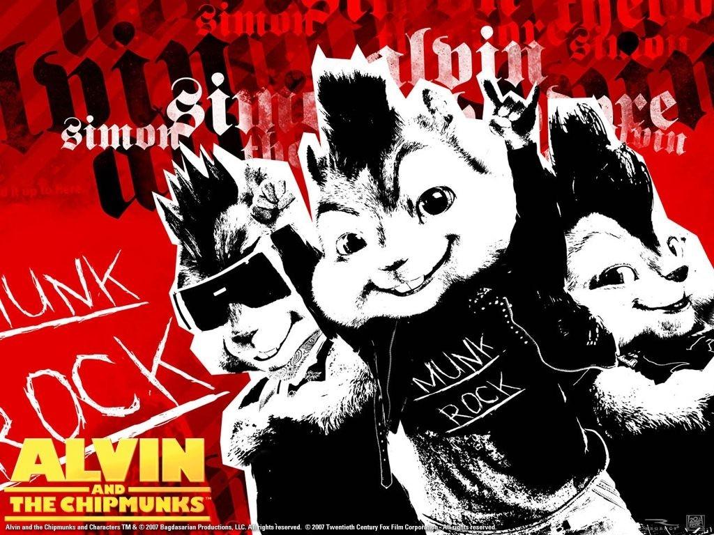 Wallpaper grafico del film Alvin Superstar