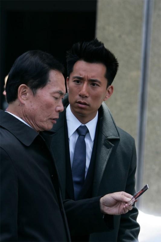 Heroes Volume II - Episodio 1: Kaito Nakamura (George Takei) e Ando Masahashi (James Kyson Lee).