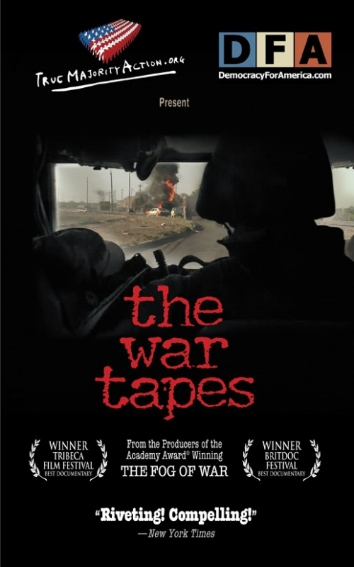 La locandina di The War Tapes