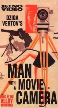 La locandina di L'uomo con la macchina da presa