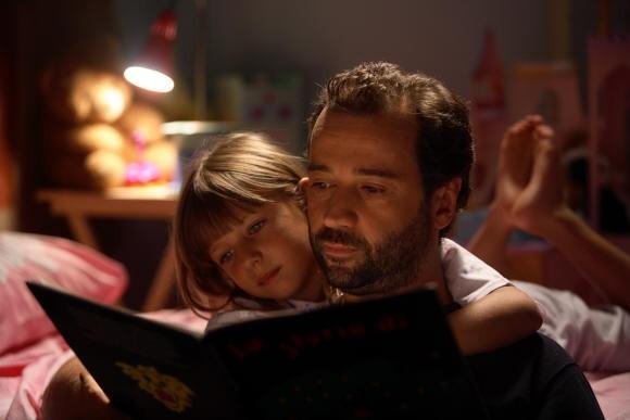 L'attore Fabio Volo in un'immagine del film Bianco e Nero