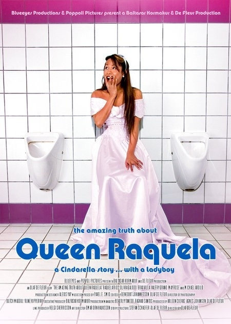 La locandina di The Amazing Truth About Queen Raquela