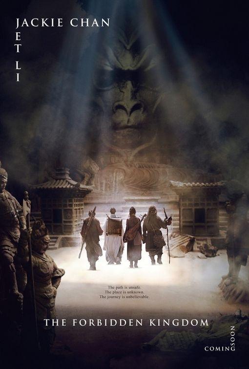 La locandina del film The Forbidden Kingdom