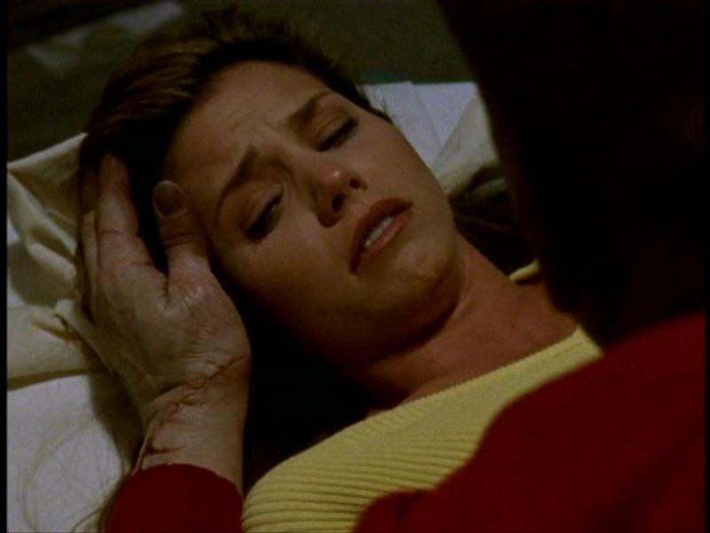 Charisma Carpenter se la vede brutta nell'episodio 'Pezzi di ricambio' di Buffy - L'ammazzavampiri