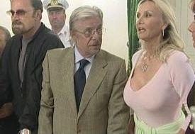 Giancarlo Giannini, Barbara Bouchet e Franco Nero in una scena del film Bastardi