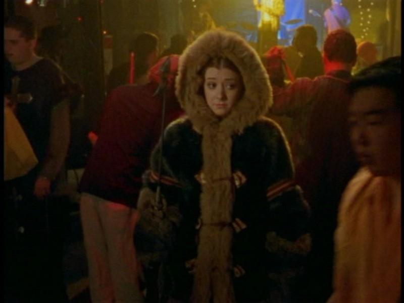 Alyson Hannigan nell'episodio 'La prescelta' della seconda stagione di Buffy - L'ammazzavampiri