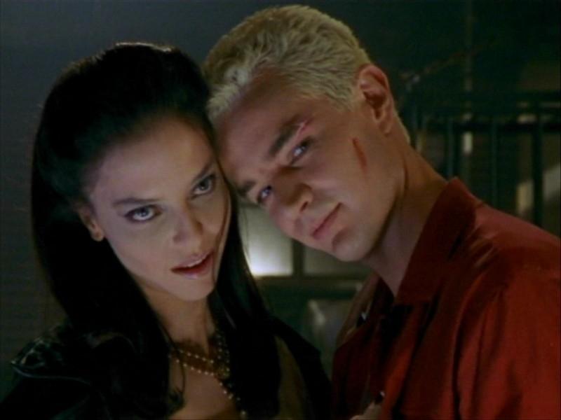 James Marsters e Juliet Landau nell'episodio 'Un avversario pericoloso' di Buffy - L'ammazzavampiri