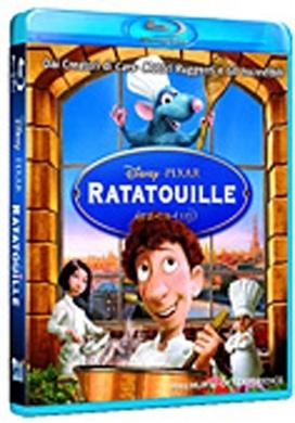 La copertina DVD di Ratatouille (Blu-Ray)