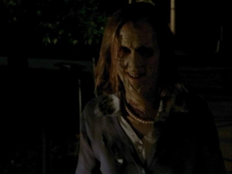 Una scena dell'episodio 'Oscurità' di Buffy - L'ammazzavampiri
