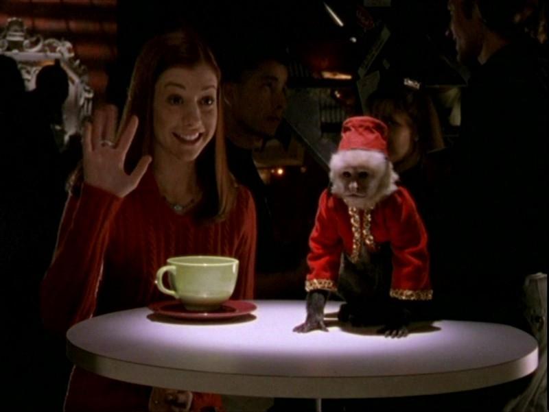 Alyson Hannigan in una sequenza dell'episodio 'Sorpresa' di Buffy - L'ammazzavampiri