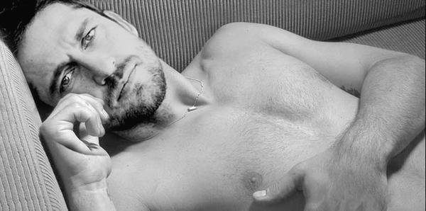 Uno scatto sexy per Gerard Butler
