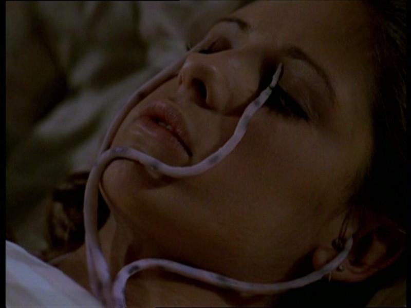 Sarah Michelle Gellar in un'immagine dall'episodio 'Uova cattive' di Buffy - L'ammazzavampiri