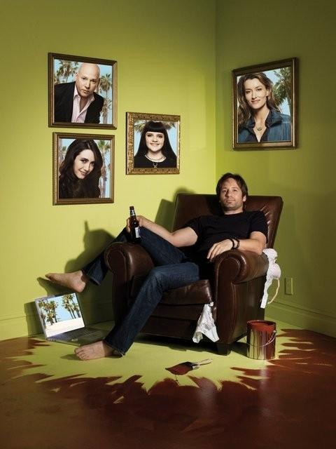 Un'immagine promozionale della serie 'Californication' (Prima stagione)
