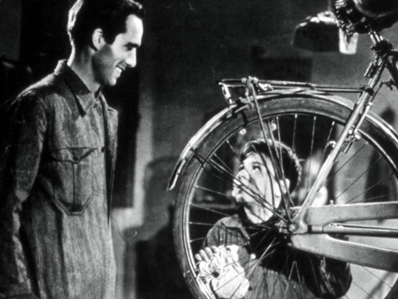 Wallpaper del film Ladri di biciclette