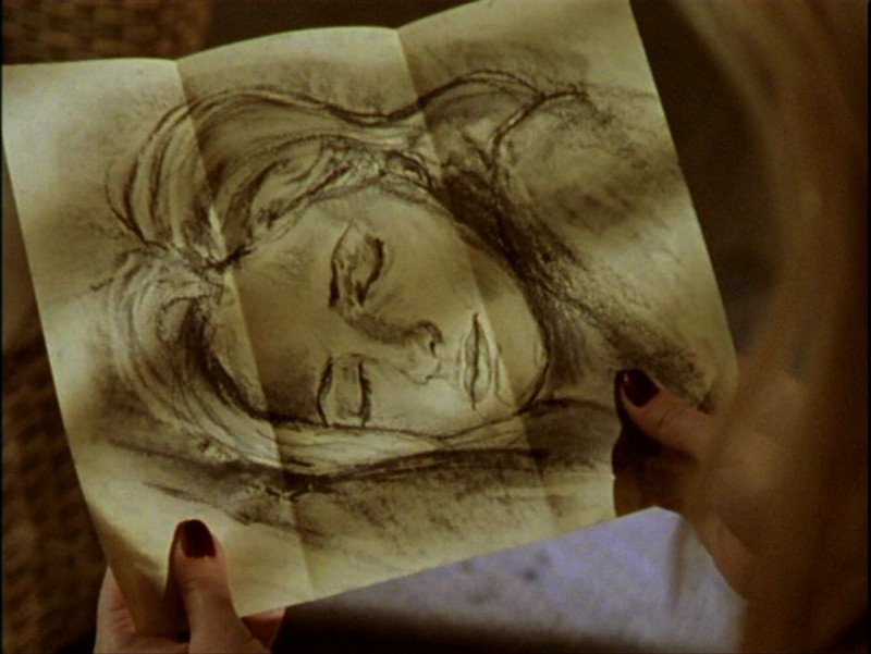 Il ritratto di Buffy disegnato da Angelus nell'episodio 'Passioni' di Buffy - L'ammazzavampiri