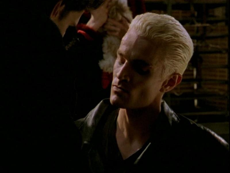 James Marsters in una scena dell'episodio 'Passioni' di Buffy - L'ammazzavampiri