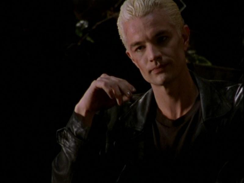 James Marsters in una scena dell'episodio 'Per sempre' della seconda stagione di Buffy - L'ammazzavampiri
