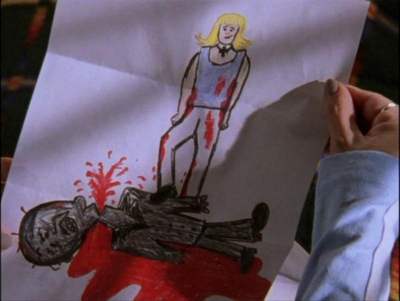 Un'immagine dall'episodio 'Il mostro' di Buffy - L'ammazzavampiri