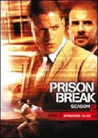 La copertina DVD di Prison Break - Stagione 2 (Vol. 2)