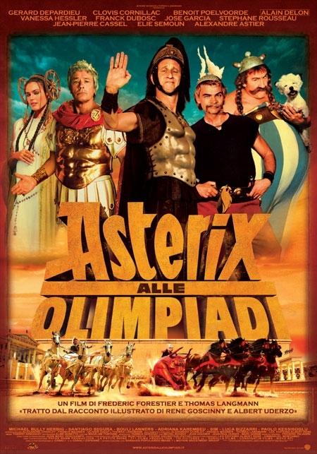La locandina di Asterix alle Olimpiadi