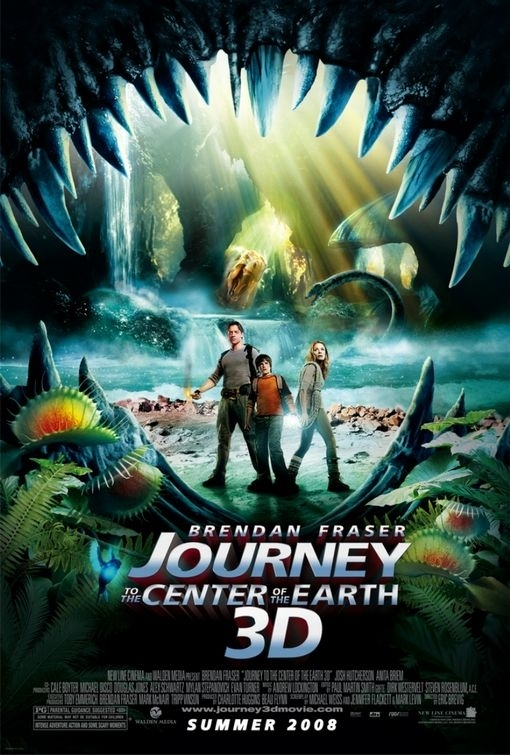 Nuova locandina per Journey to the Center of the Earth 3D