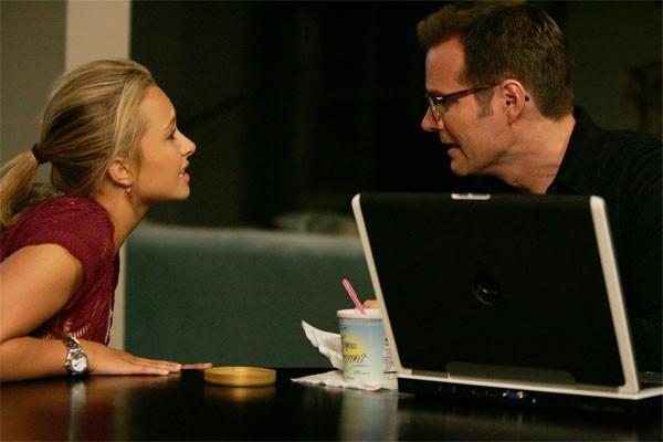 Heroes Volume II - Episodio 4: Claire (Hayden Panettiere) discute con Noah (Jack Coleman)