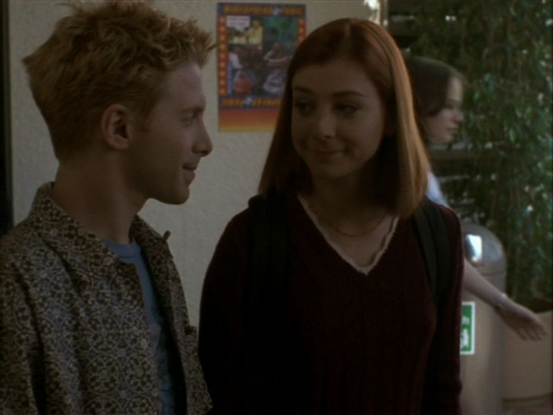 Alyson Hannigan e Seth Green nell'episodio 'La bella e le bestie' di Buffy - L'ammazzavampiri