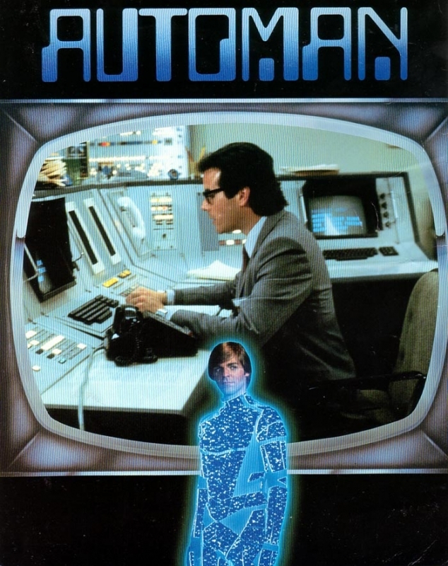 La locandina di Automan