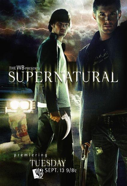 Una locandina di Supernatural