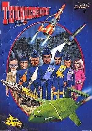 La locandina di Thunderbirds