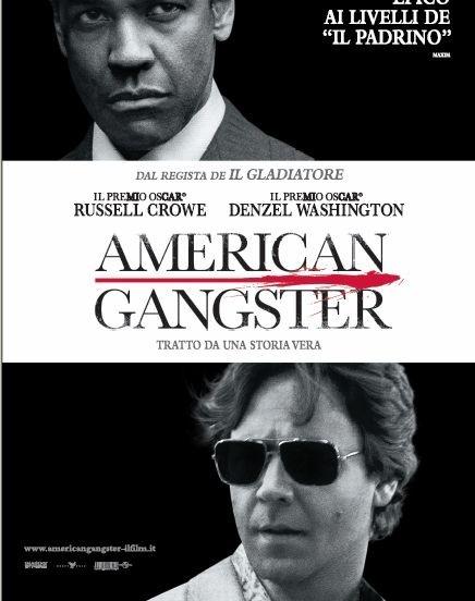 La locandina italiana di American Gangster