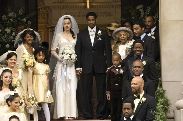 Lymari Nadal e Denzel Washington in una sequenza di American Gangster
