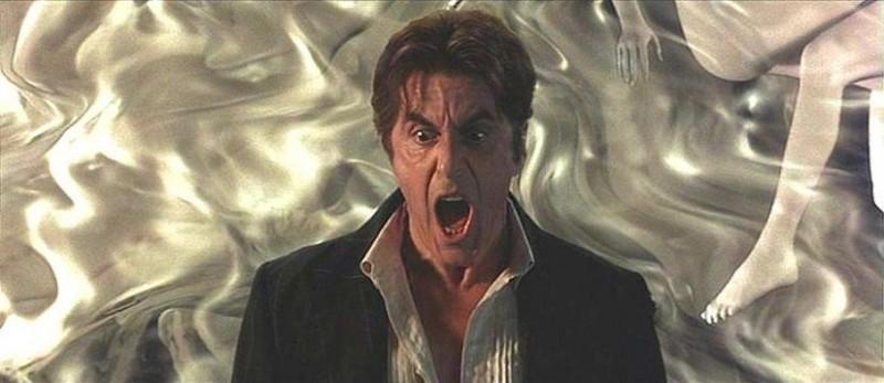 Al Pacino in una scena del film L'AVVOCATO DEL DIAVOLO